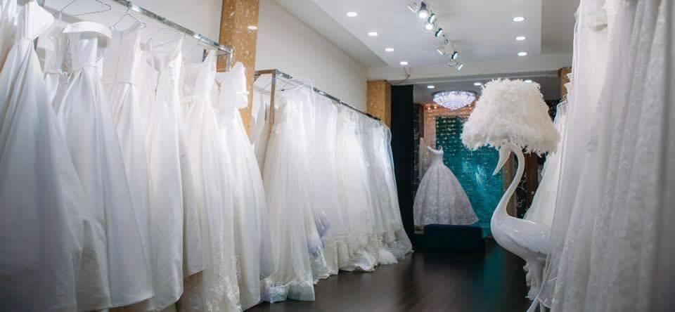 giặt hấp áo cưới